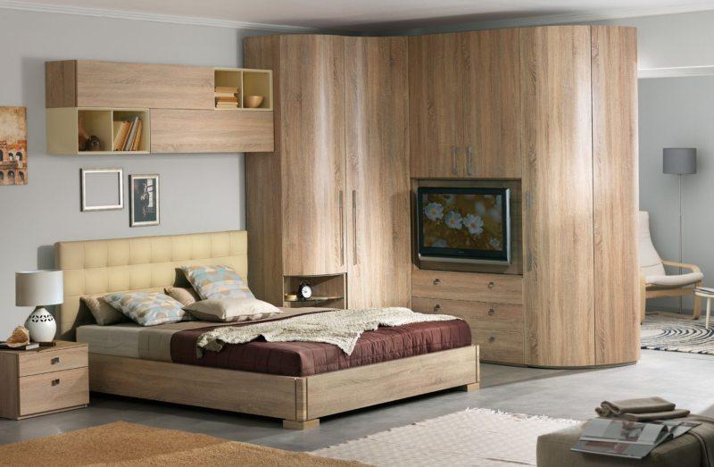 Современные спальни (52)