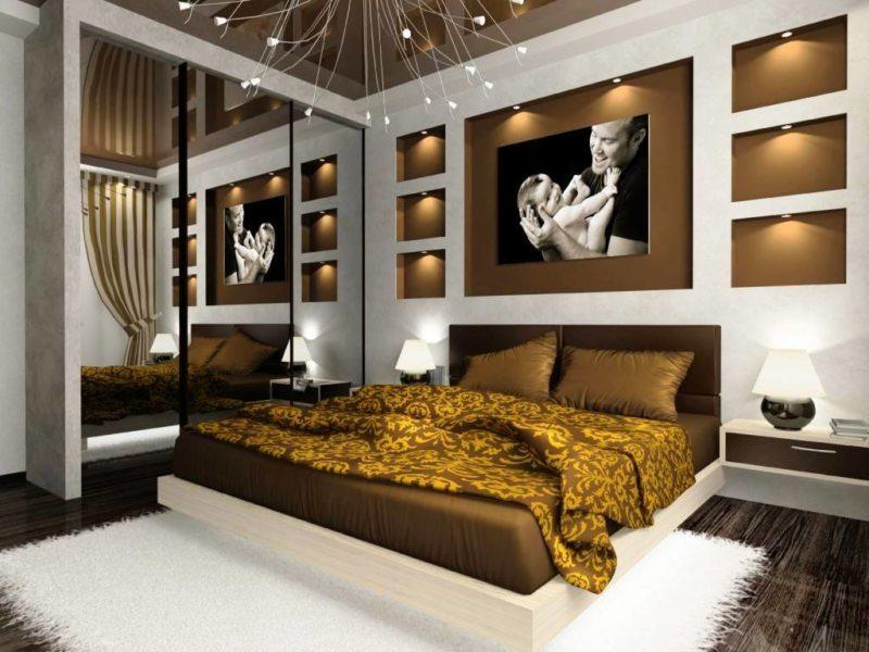 Современные спальни (57)
