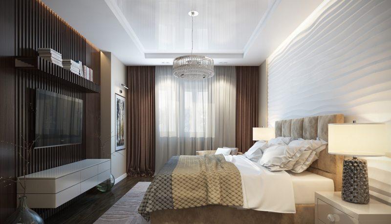 Современные спальни (60)