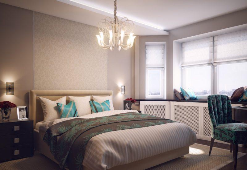 Современные спальни (61)