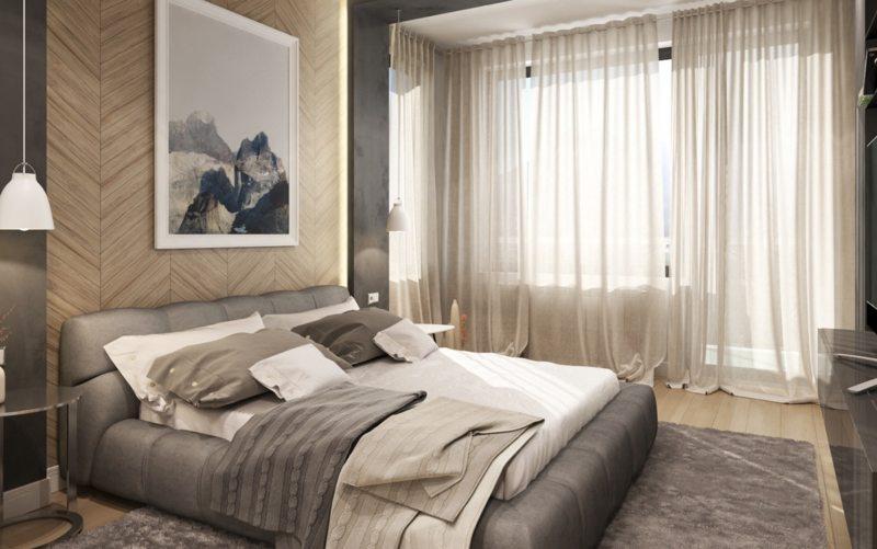 Современные спальни (62)