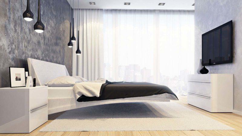 Современные спальни (67)