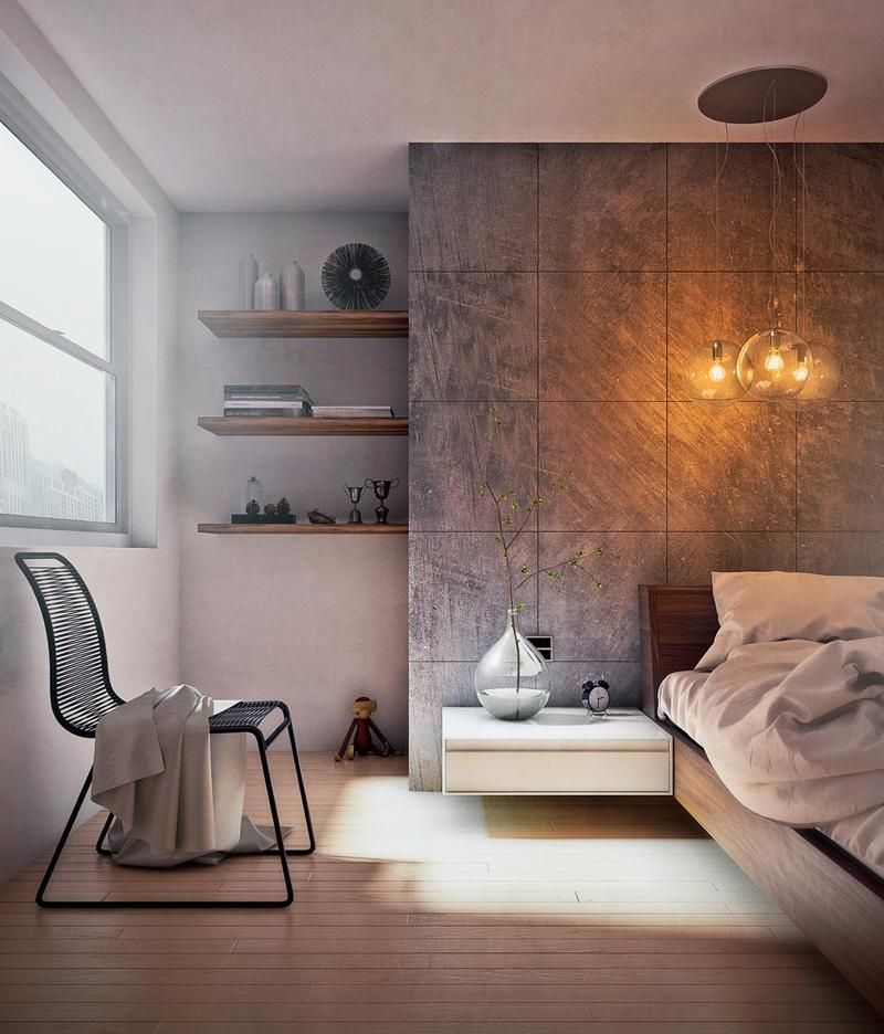 Современные спальни (8)