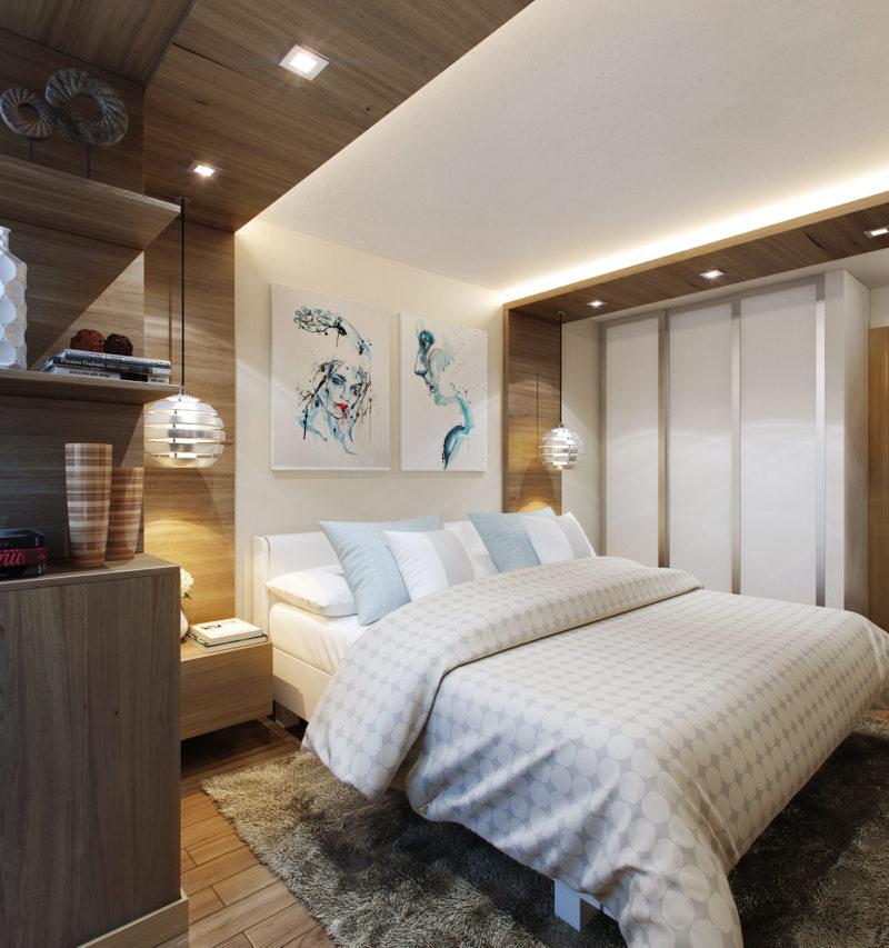 Спальня 12 кв. м. (15)