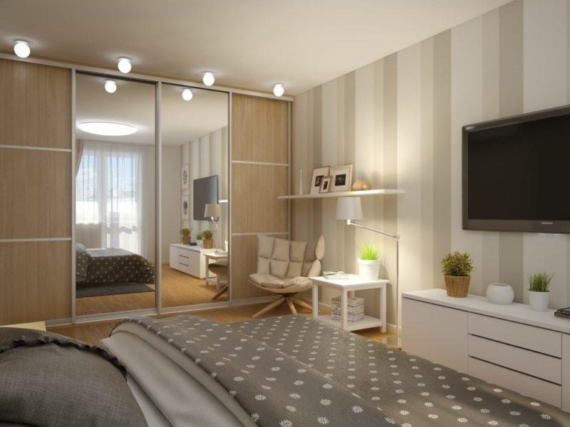 Интерьер маленькой спальни 9 кв м своими руками: правила