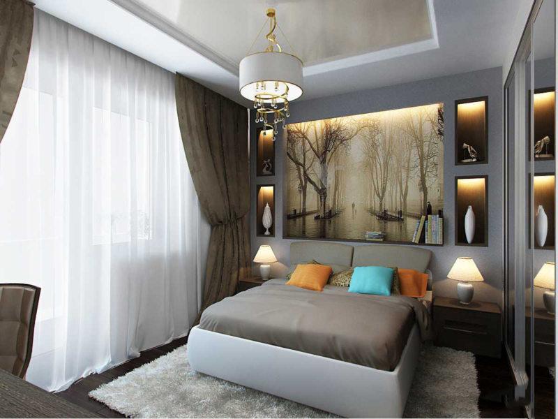 Спальня 15 кв. м. (53)