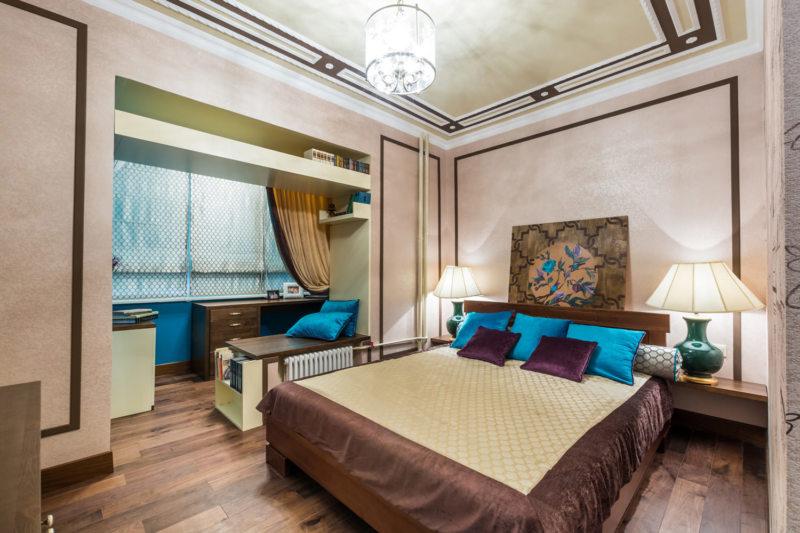 Спальня 15 кв. м. (61)