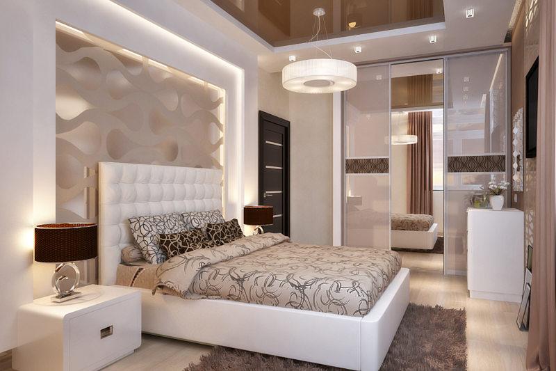 Дизайн спальни 20 кв м: Варианты дизайн-проекта планировки 43