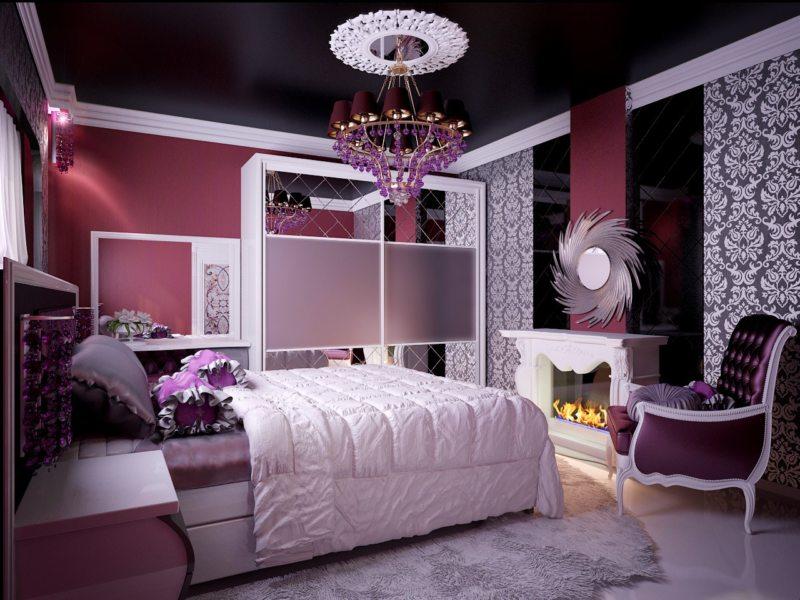 Спальня для девушки (29)
