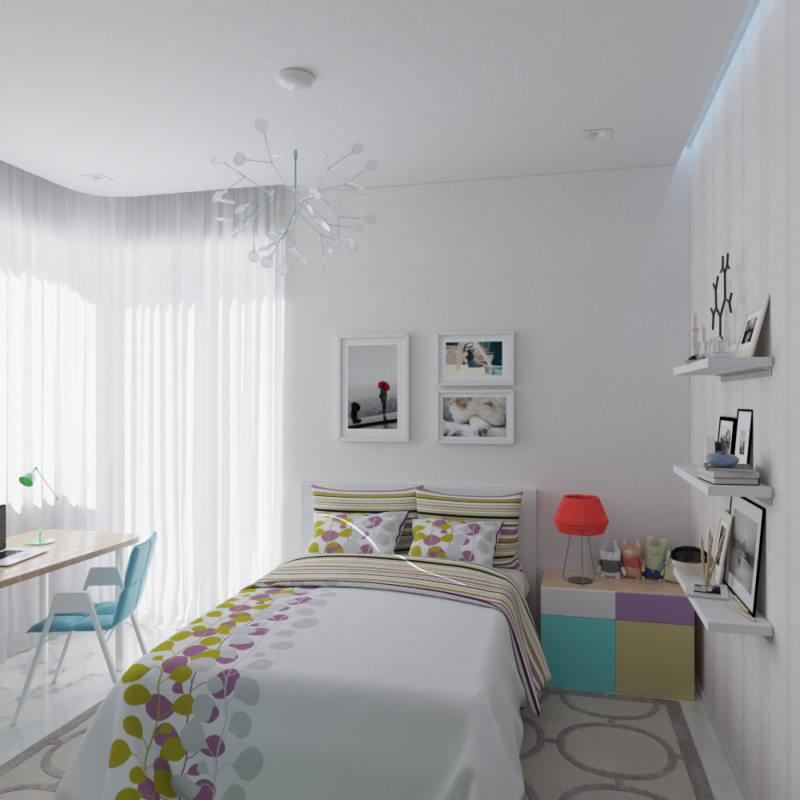 Спальня для девушки (8)