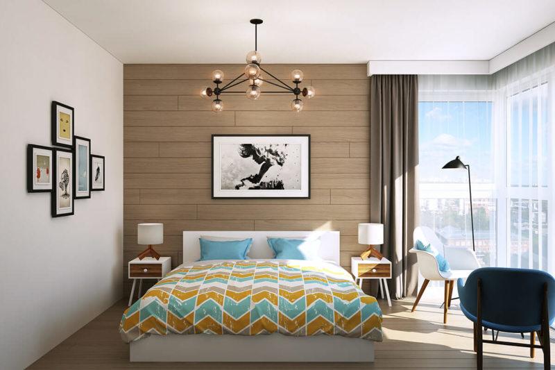 Спальня с двумя окнами (11)