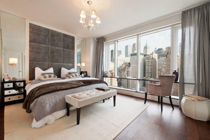 Спальня с двумя окнами (13)