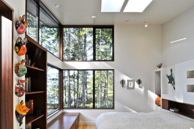 Спальня с двумя окнами (5)