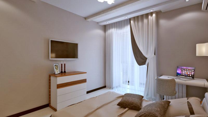 Спальня в частном доме (28)