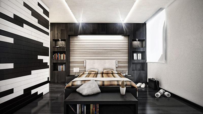 Спальня в частном доме (31)