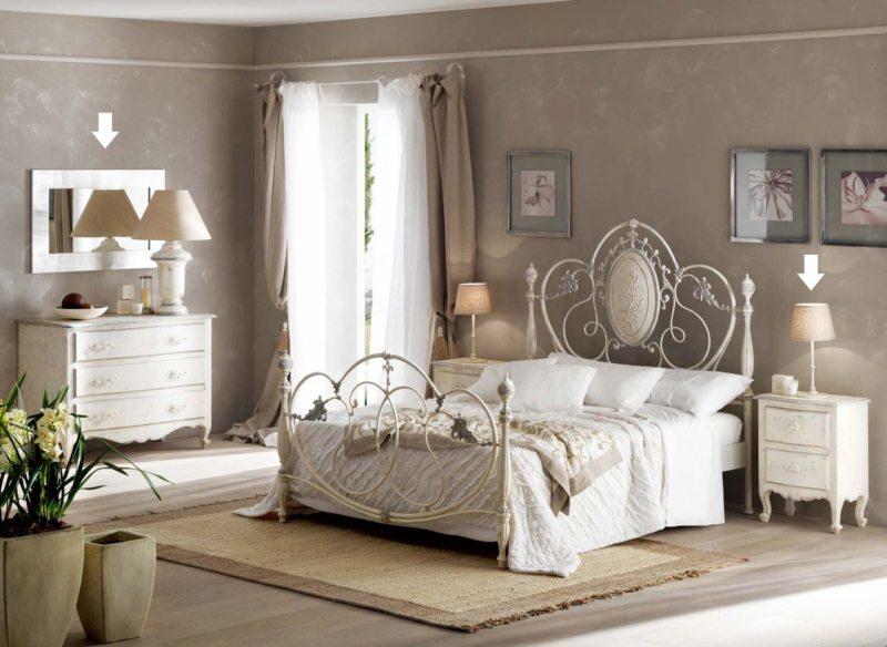 Спальня в частном доме (36)