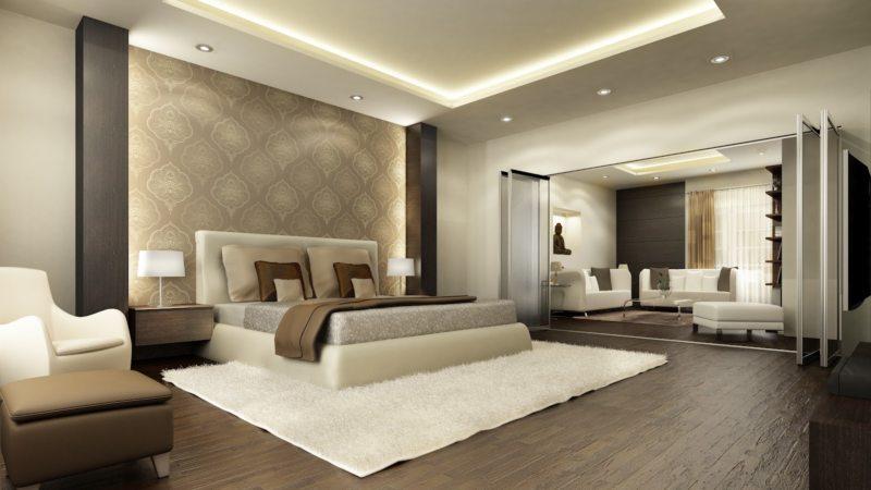 Спальня в частном доме (38)
