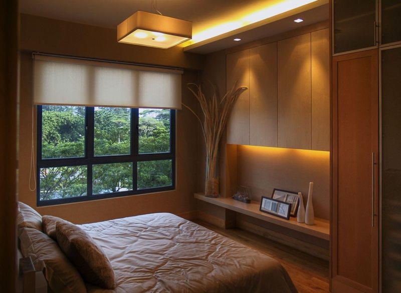 Спальня в частном доме (41)