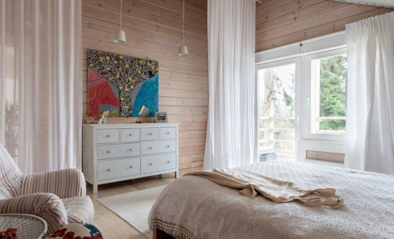 Спальня в частном доме (49)
