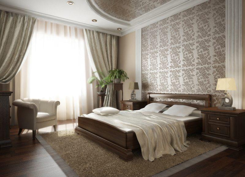 Спальня в частном доме (51)