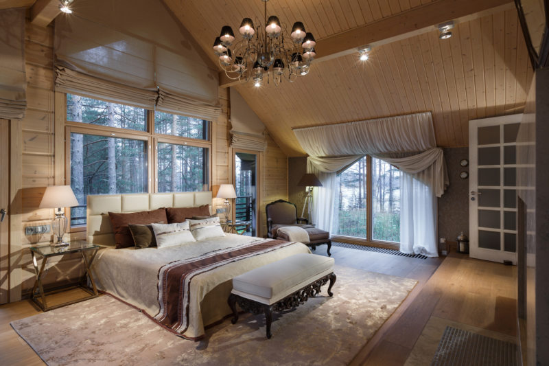 Спальня в частном доме (52)