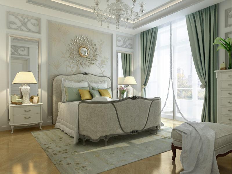 Спальня в частном доме (53)