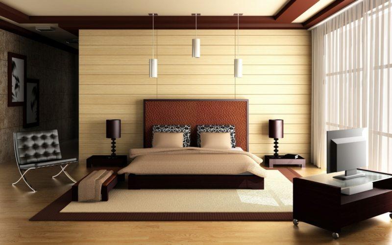 Спальня в частном доме (54)