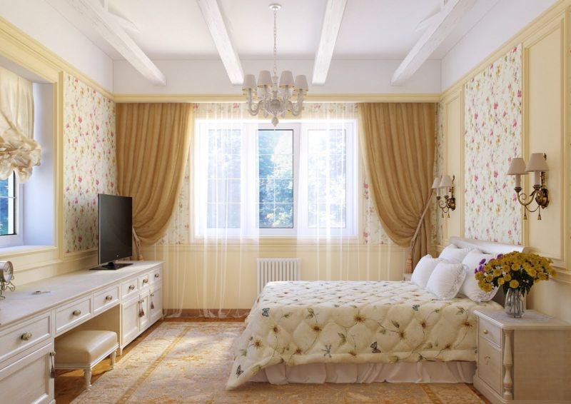Спальня в частном доме (57)