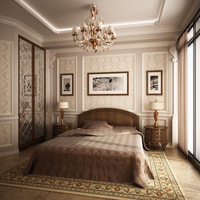 Спальня в частном доме (58)