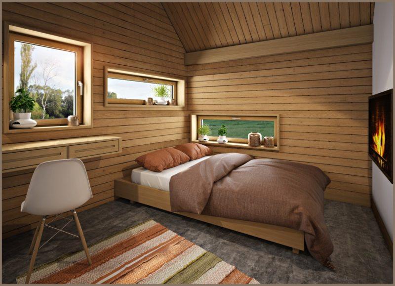 Спальня в частном доме (61)