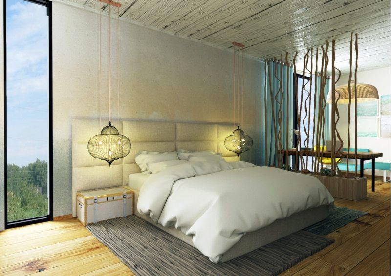 Спальня в частном доме (62)