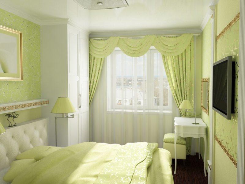 Спальня в хрущевке (13)