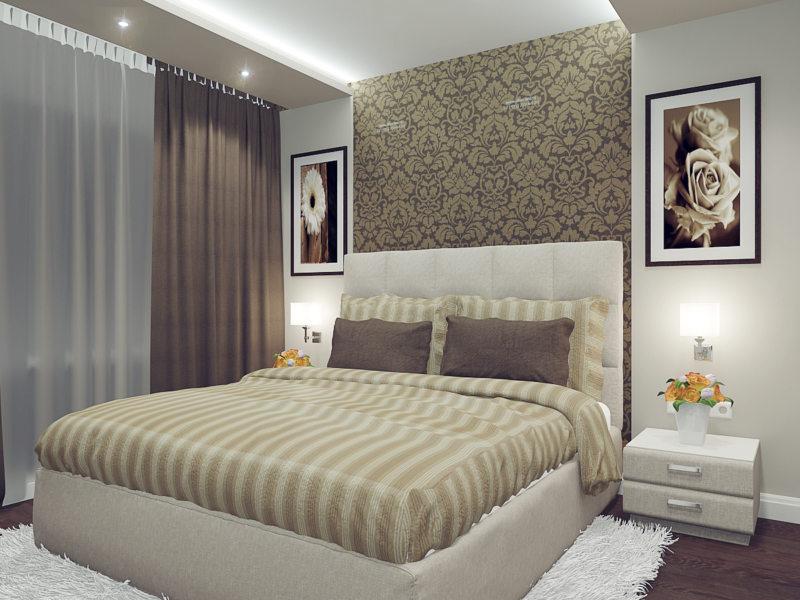 Идеи для спальни в хрущевке фото