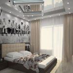 Спальня в хрущевке (20)