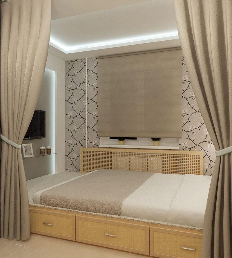 Спальня в хрущевке (3)