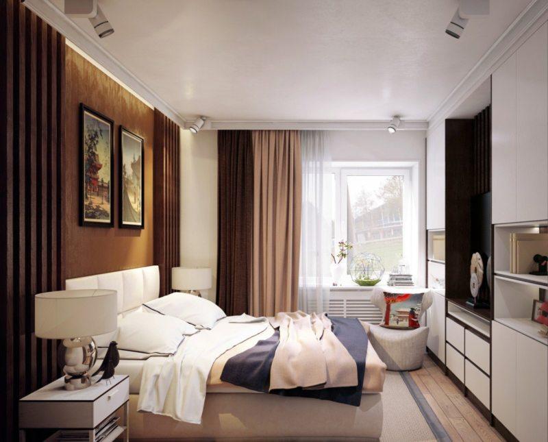 Спальня в хрущевке (30)