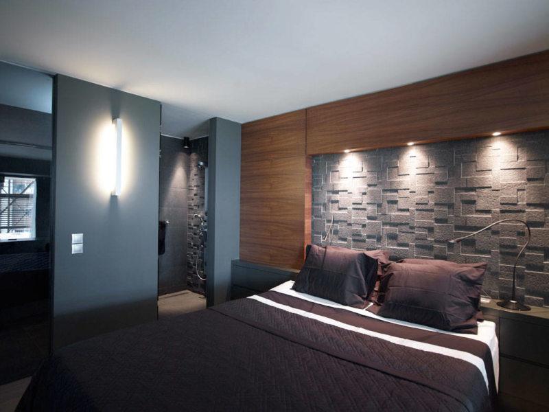 Спальня в хрущевке (39)
