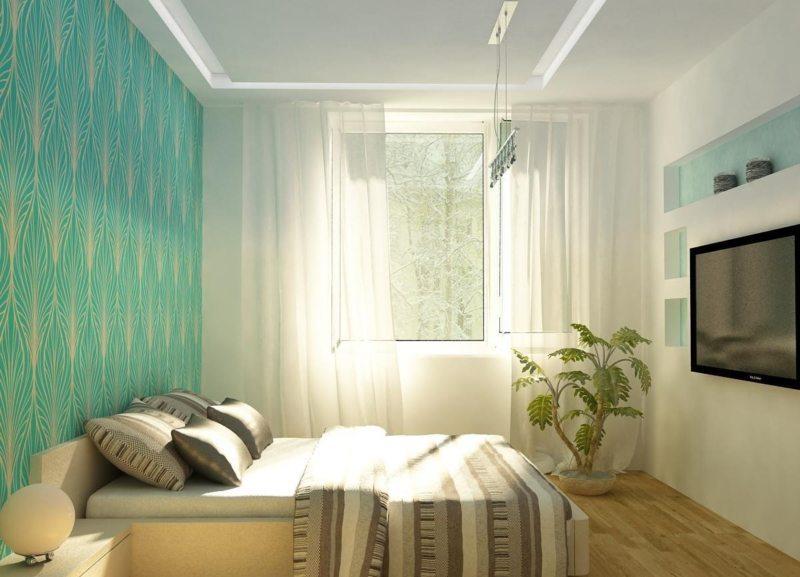 Спальня в хрущевке (40)