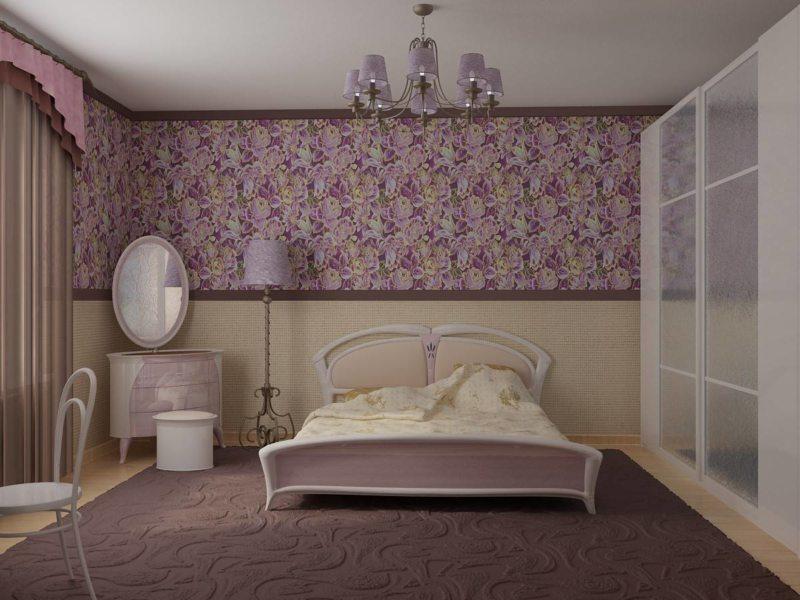 Спальня в хрущевке (41)