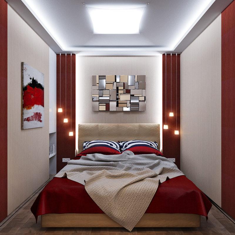 спальня в хрущевке 75 фото идей и новинок дизайна