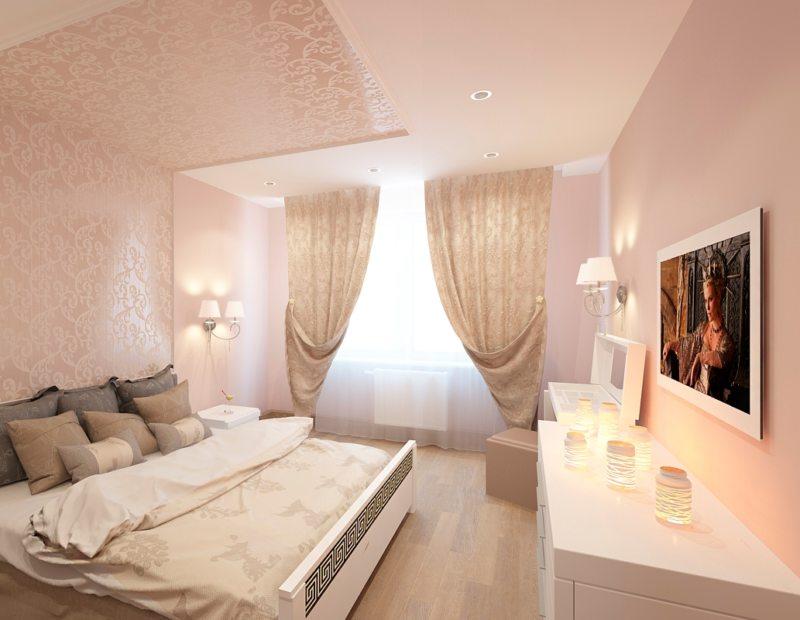Спальня в хрущевке (56)