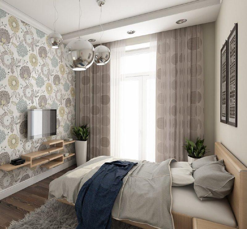 Спальня в хрущевке (58)