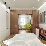 Спальня в хрущевке (9)