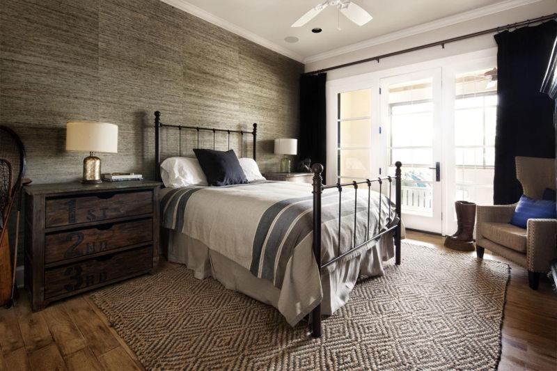Спальня в стиле кантри (33)
