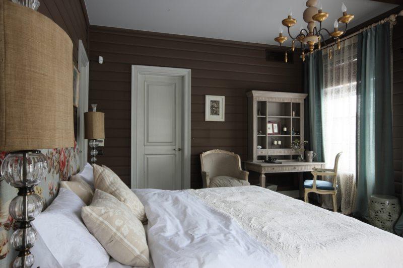 Спальня в стиле кантри (45)