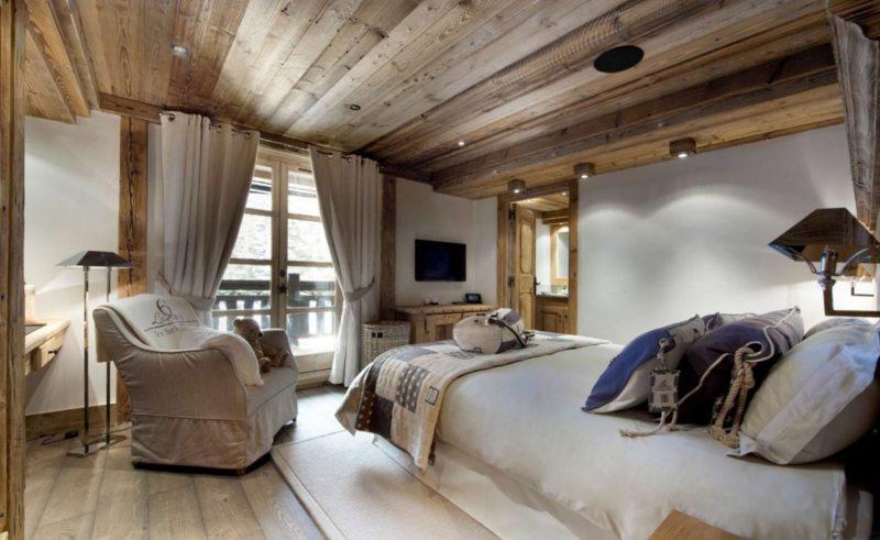 Спальня в стиле кантри (48)