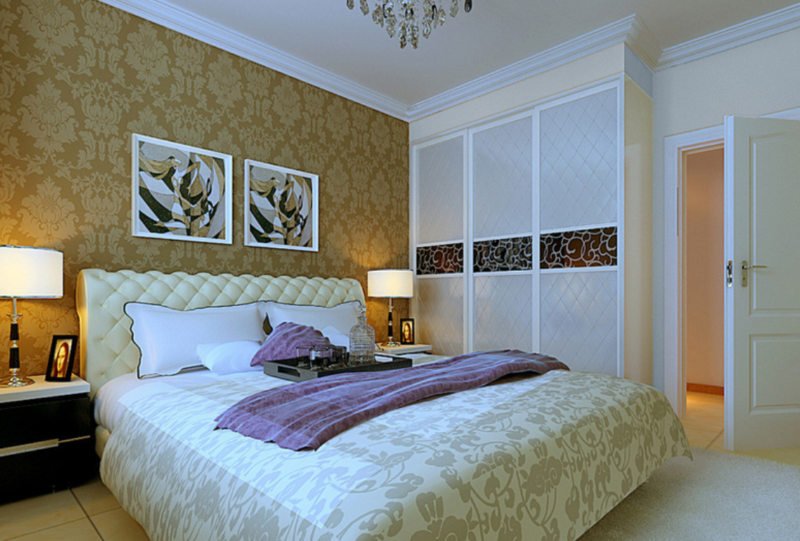 Спальня в стиле модерн (13)