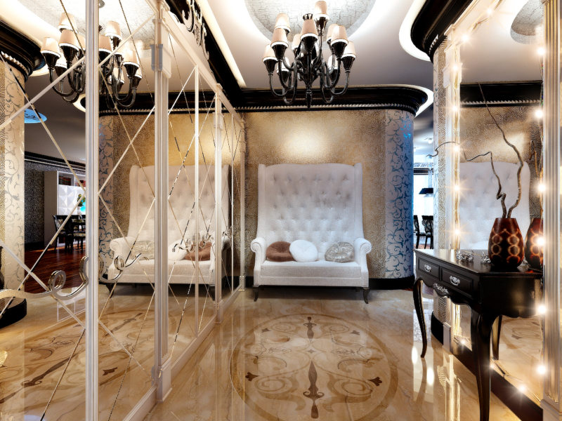 Спальня в стиле модерн (14)