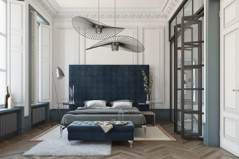 Спальня в стиле модерн (15)