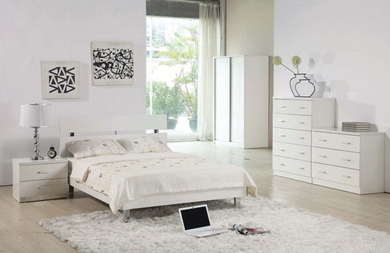 Спальня в стиле модерн (16)